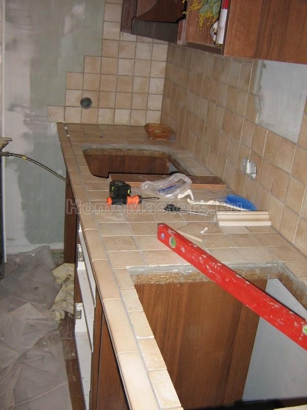 Как своими руками сделать столешницу на кухонный гарнитур 77
