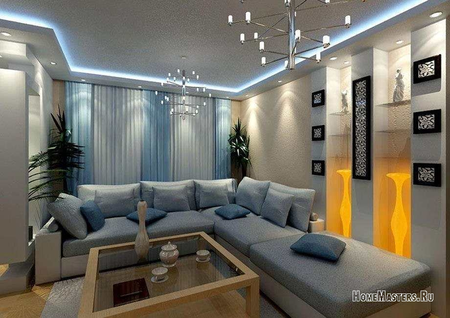 дизайн квартиры угловой с двумя окнами фото