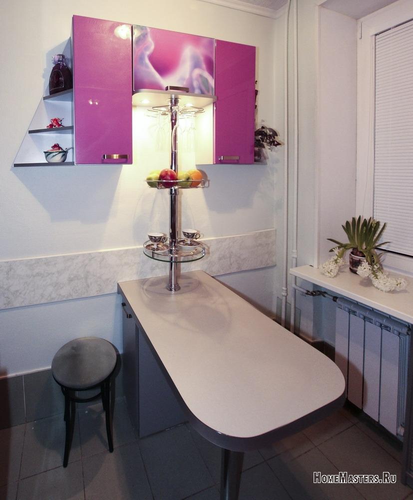 Барный стол для маленькой кухни своими руками 93