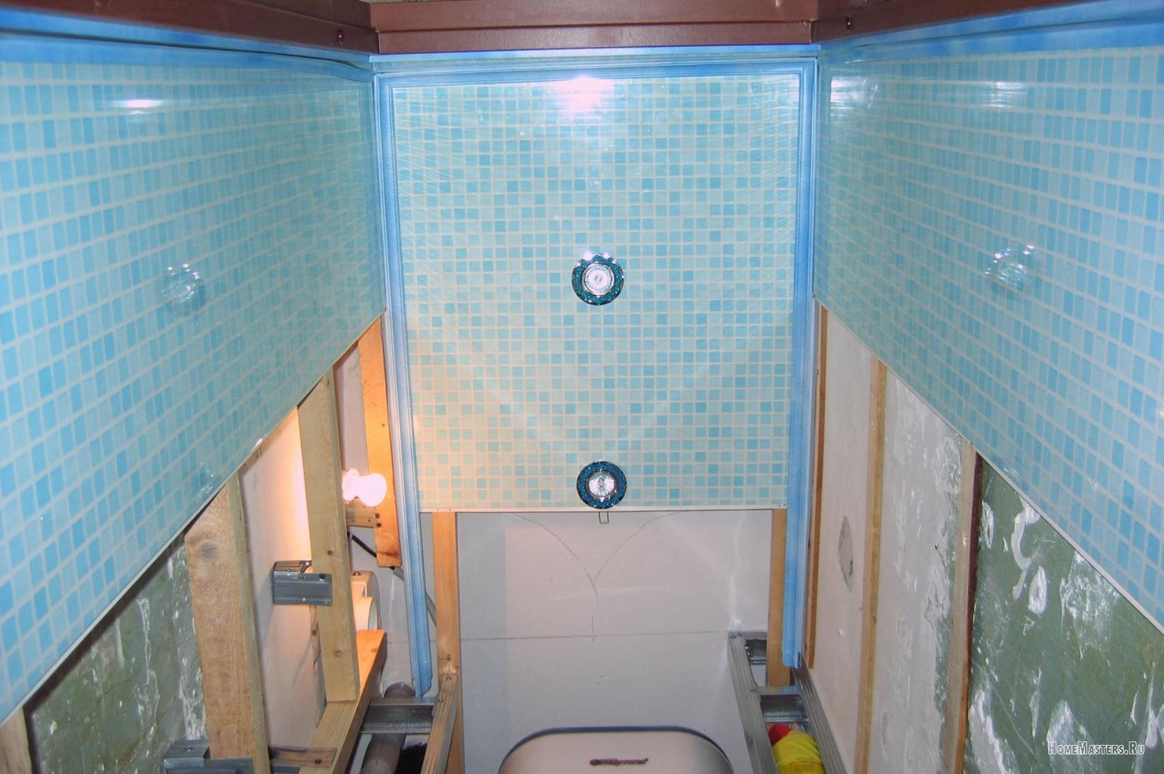 Как обшить ванну пластиковыми панелями своими руками фото