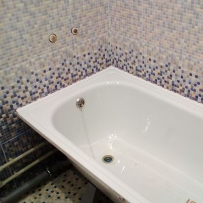 Как стыковать ванную со стенами