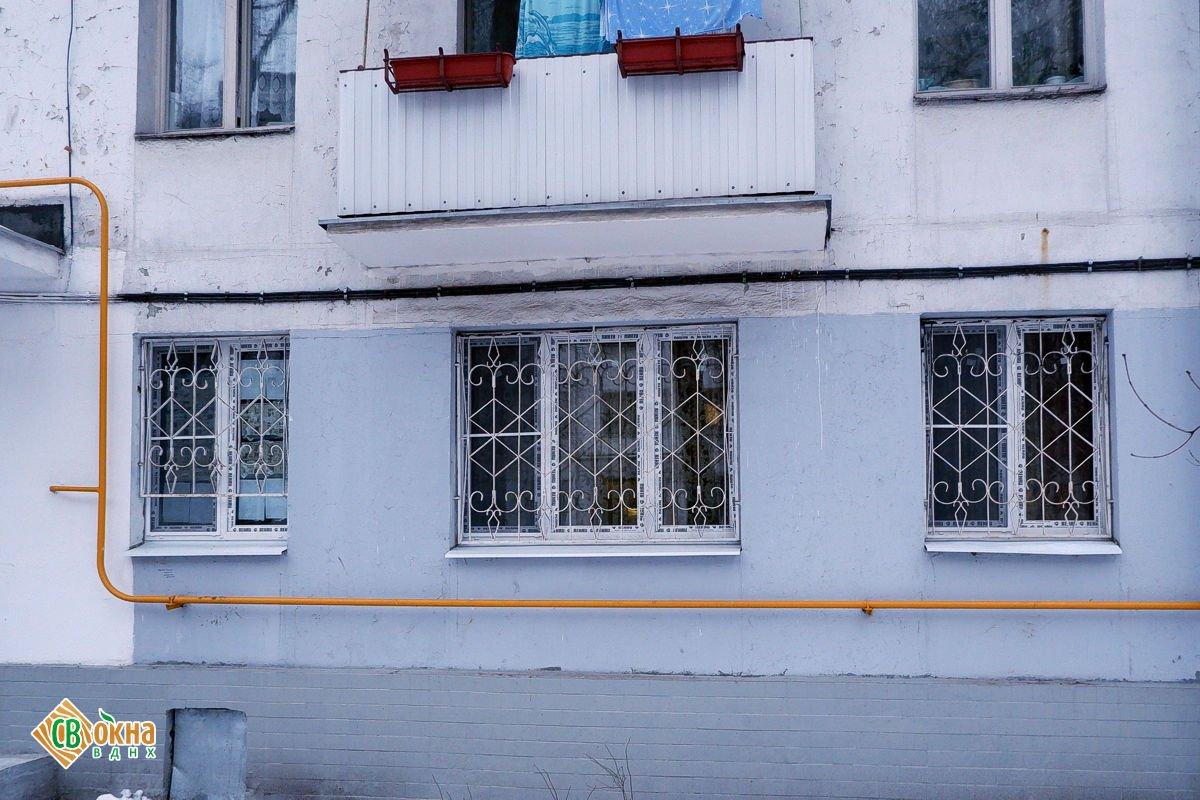 Окна REHAU Delight в пятиэтажке