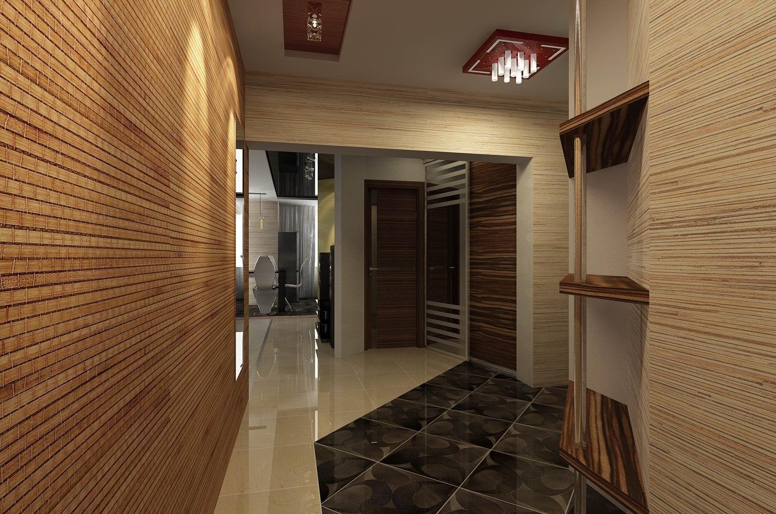 Интерьер квартиры с бамбуком. Компания Бабич.