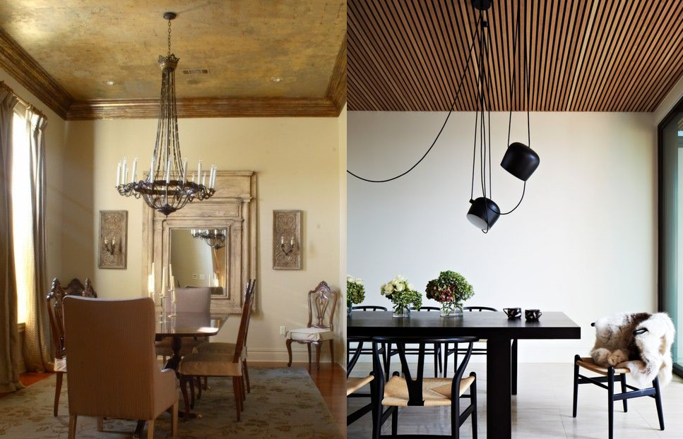7 нестандартных способов декорировать потолок