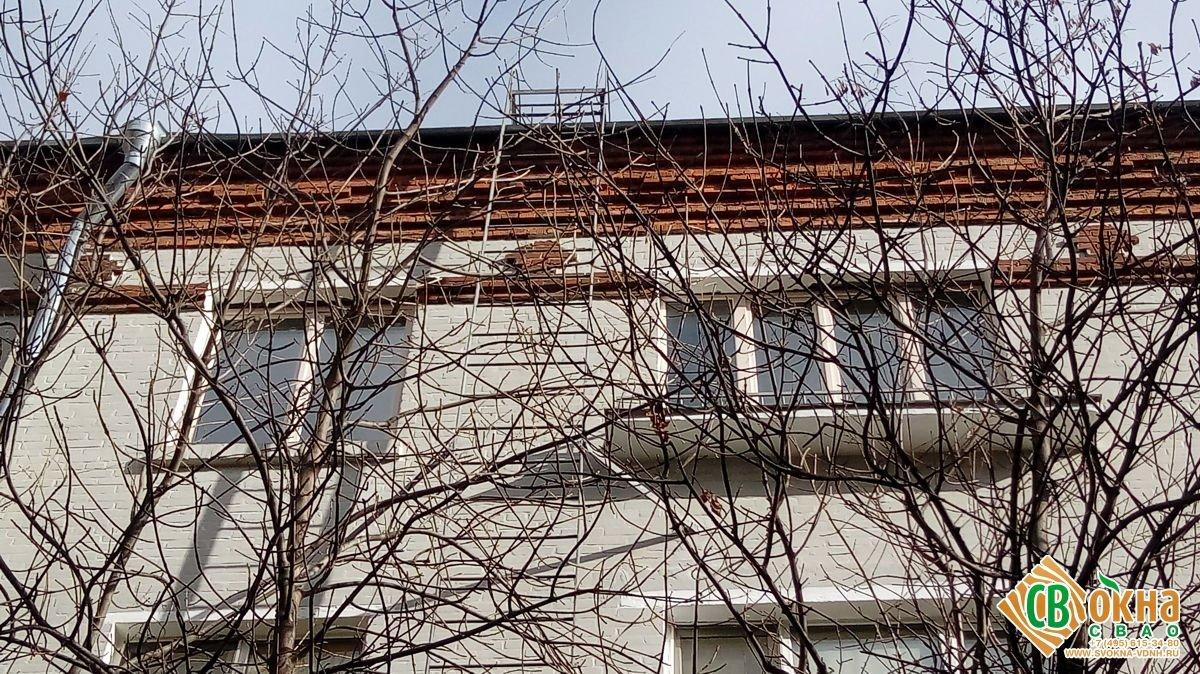 Деревянные евроокна из сосны в Марфино