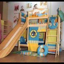 Интерьер-трансформер для детской комнаты