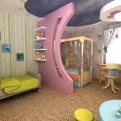 Особенности оформления детской комнаты