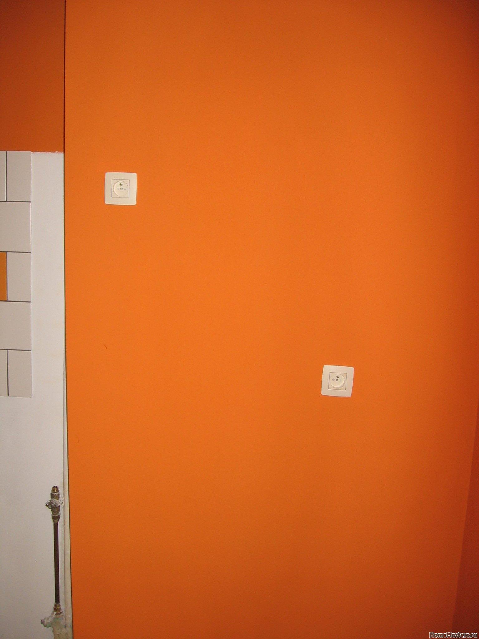 Ремонт кухни. Стены, пол, электрика. 072