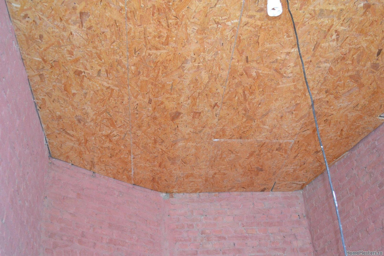 Ремонт в спальне 2. Потолок 011
