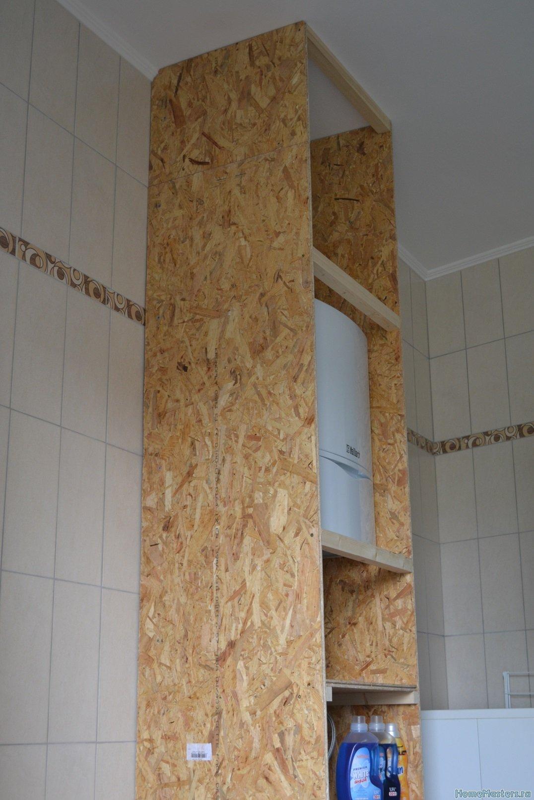 Шкаф в ванной комнате. 003