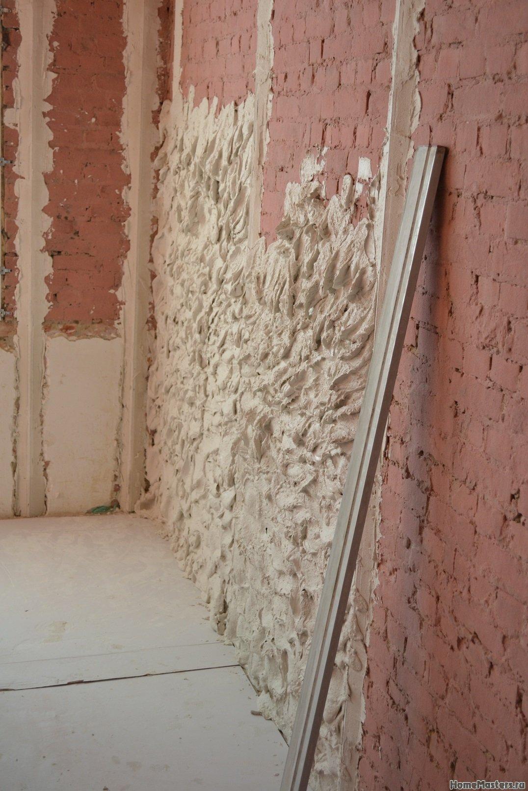 Ремонт спальни 2. Пол и стены. 003