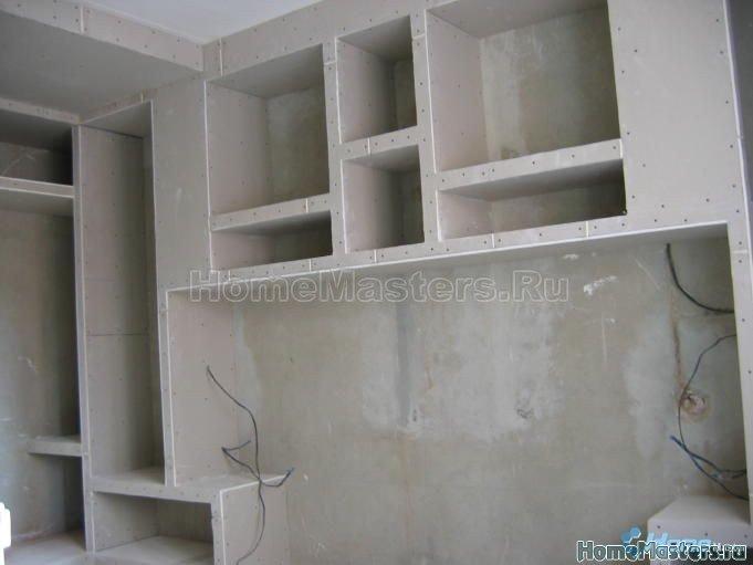 017 почти готовыйi шкаф из гипсокартона