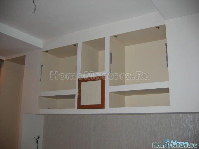 020 почти готовыйi шкаф из гипсокартона