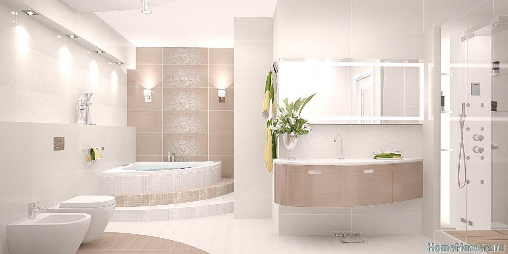 Решение для большой ванной
