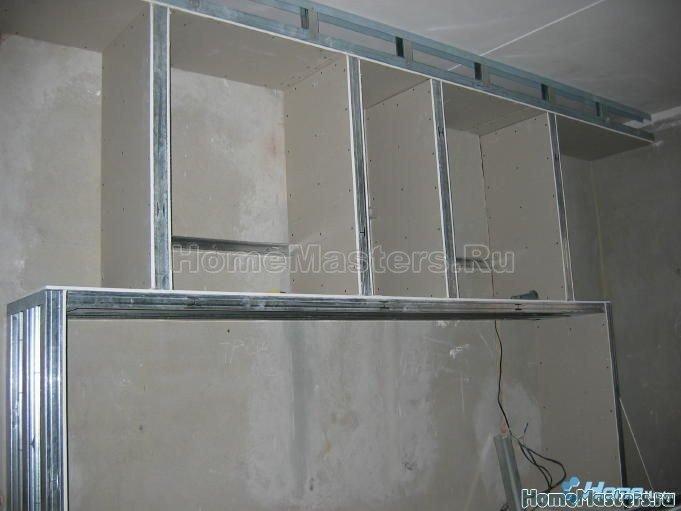 011 собираем шкаф из гипсокартона