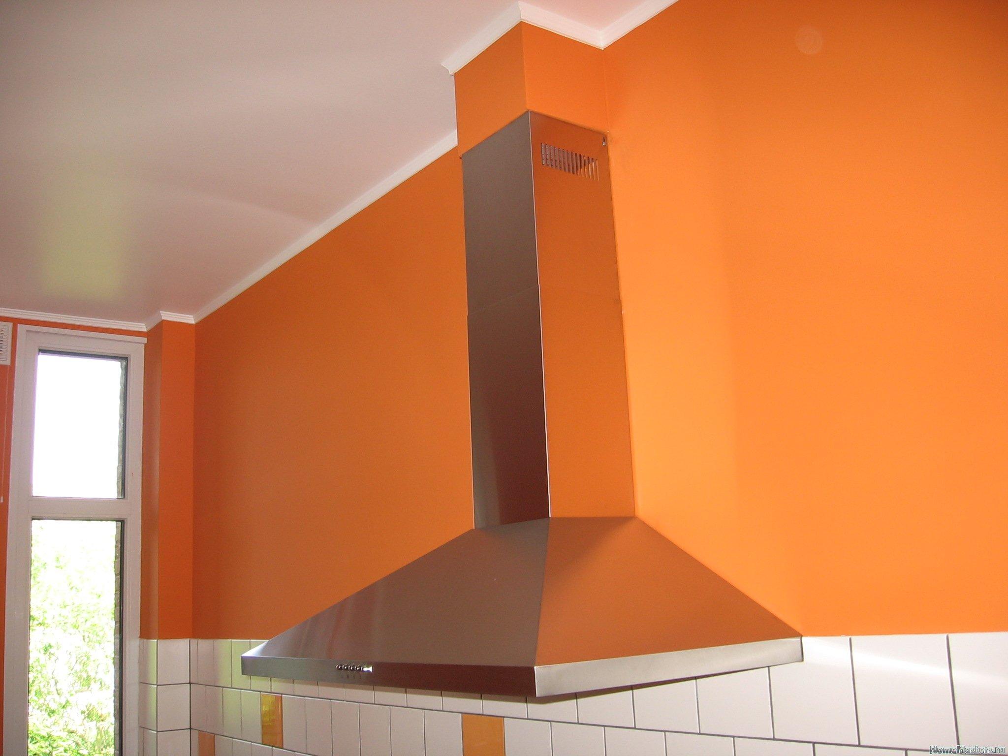 Ремонт кухни. Стены, пол, электрика. 068