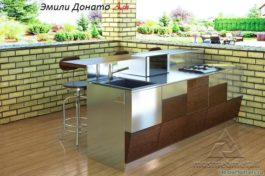 Кухни с нержавеющей сталью