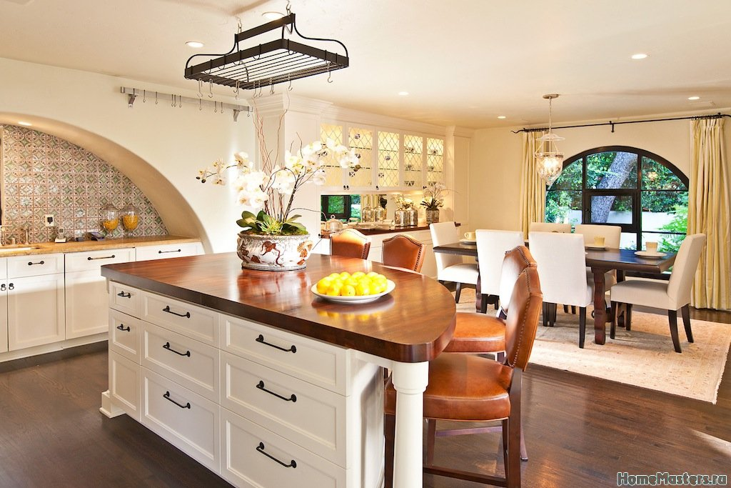 Кухня колониальный стиль