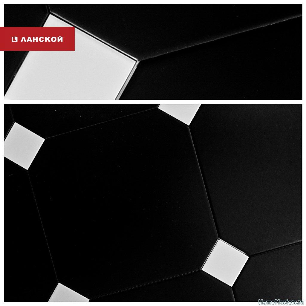 черно-белая плитка в тк ланской