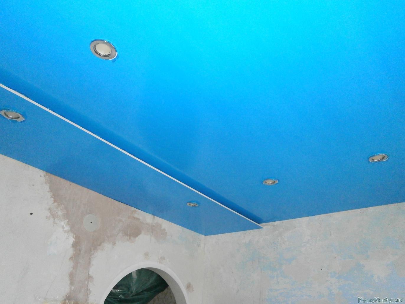 2 Потолок из сэндвич панелей ПВХ ( фото 2 )