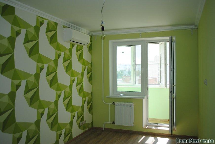 Наш выполненный ремонт квартиры в Москве