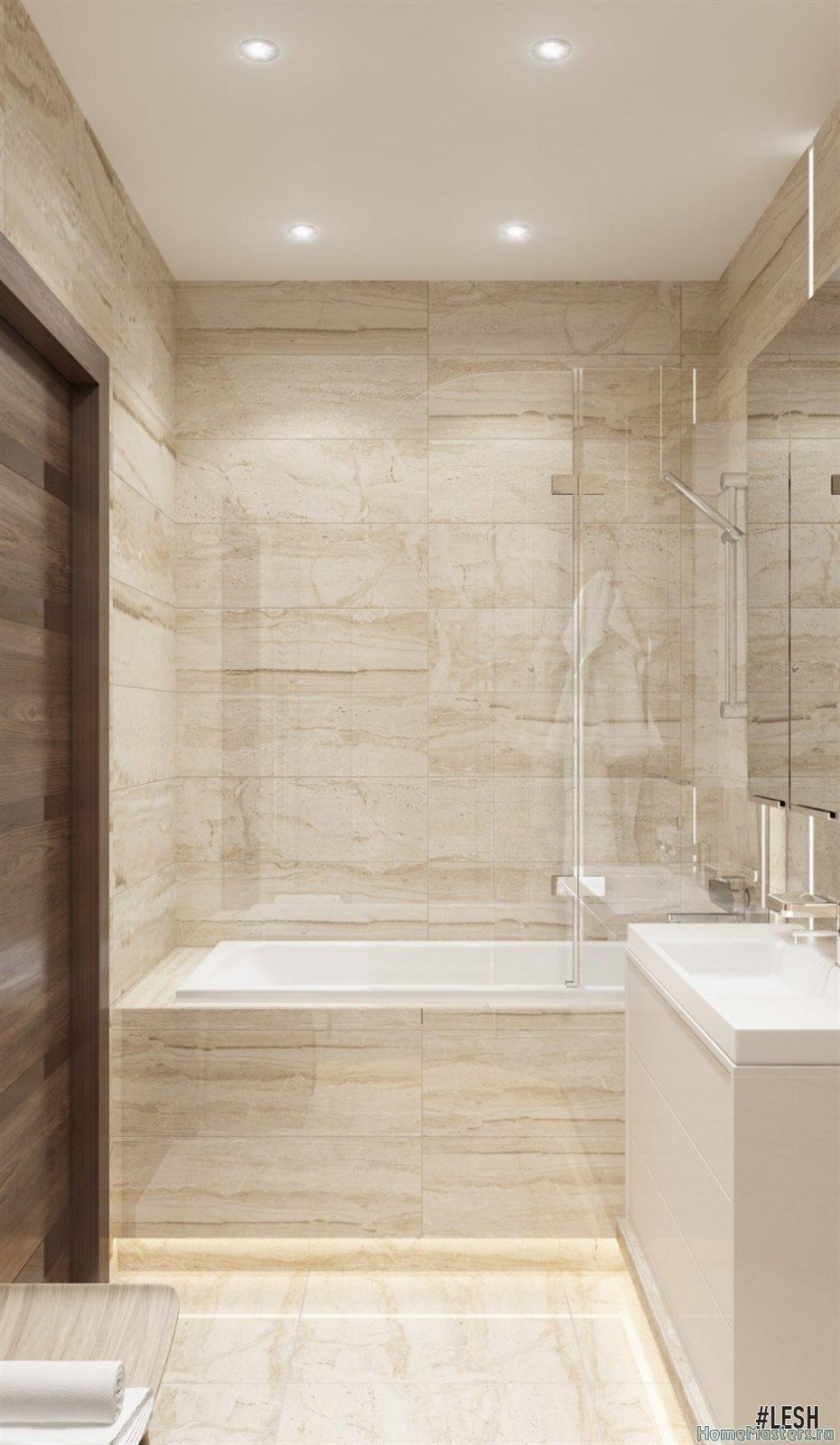 Ванная комната в стиле «Контемпорари»