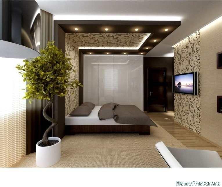 Идея для спальной комнаты