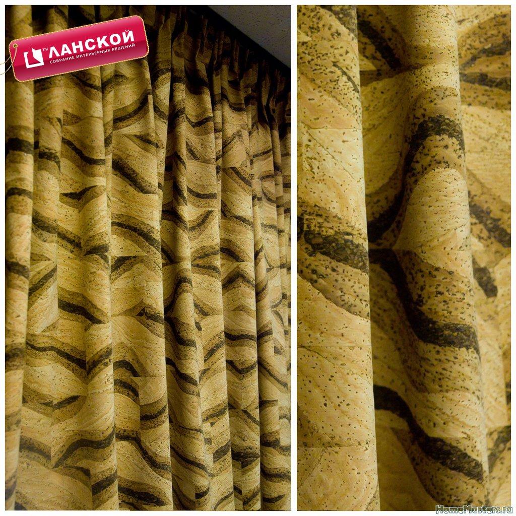 Пробковый текстиль Corkart, коллекция Handmade fabric в ТК Ланской