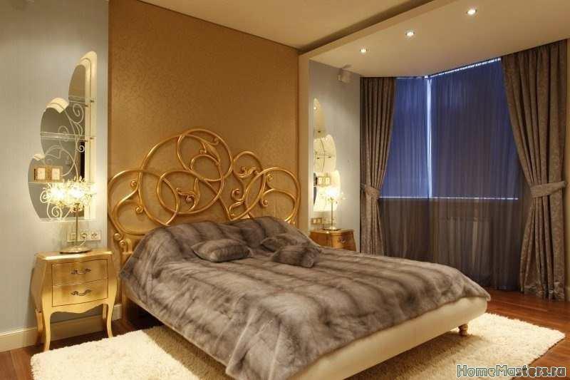 Простая идея спальни