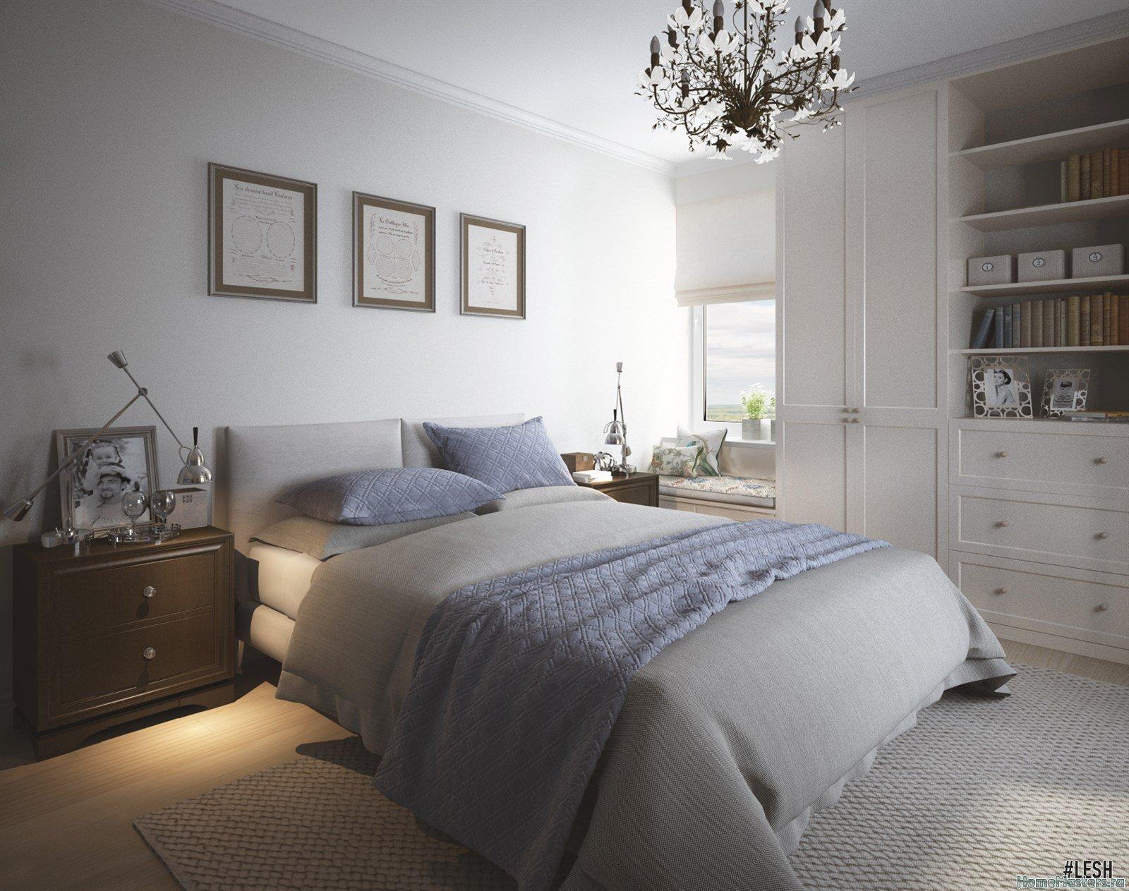 Спальня - минимализм
