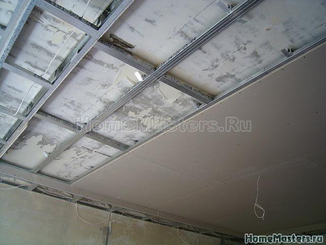 038a каркас гкл потолка