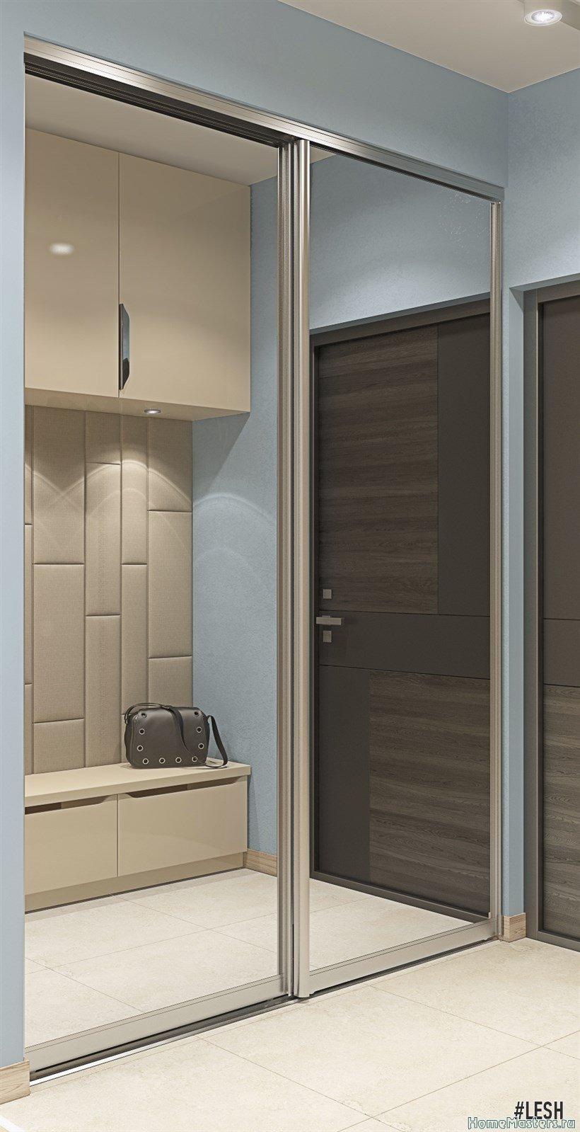 Зеркальный шкаф-купе | Butlerova - 69м.