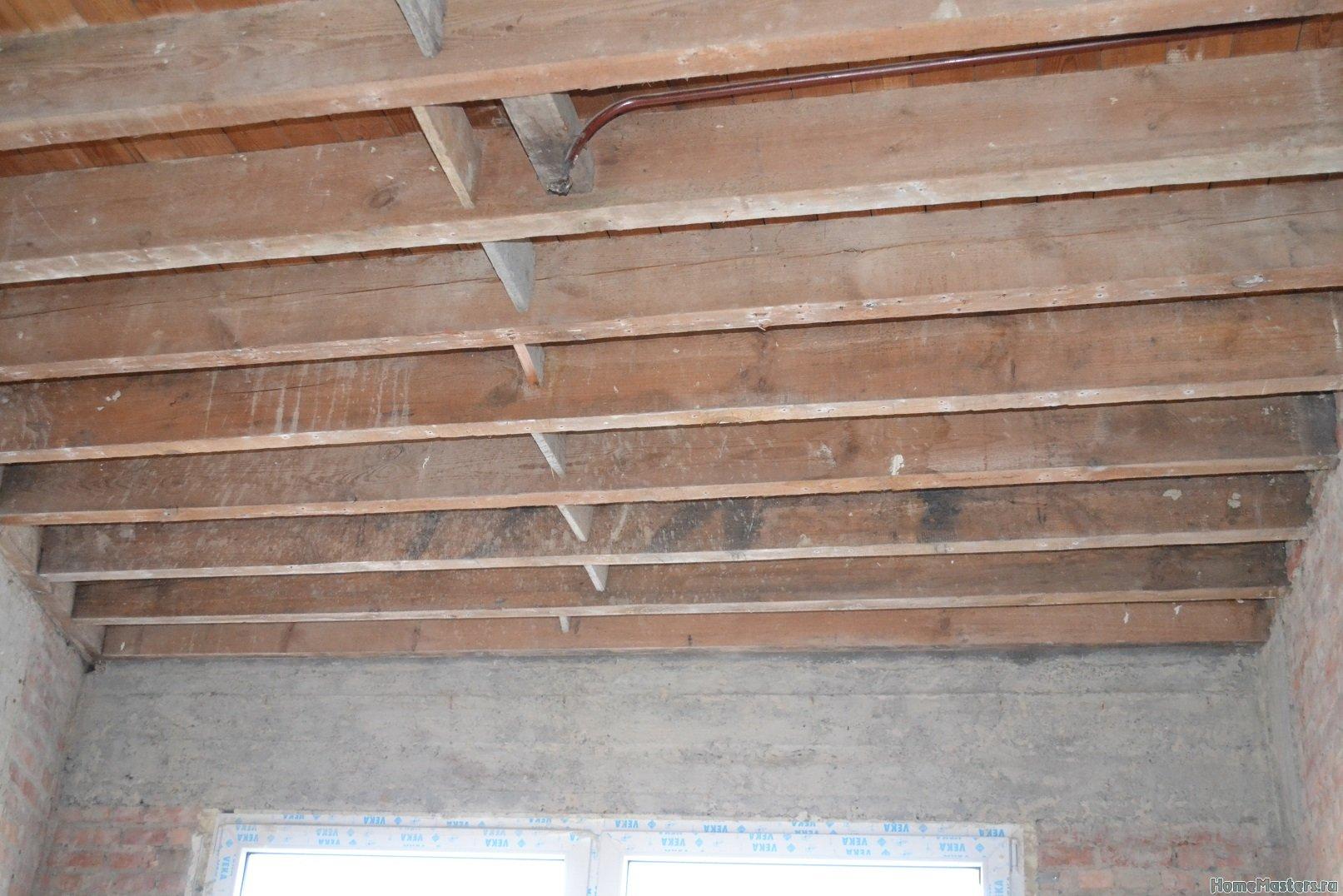 Ремонт в спальне 2. Потолок 004