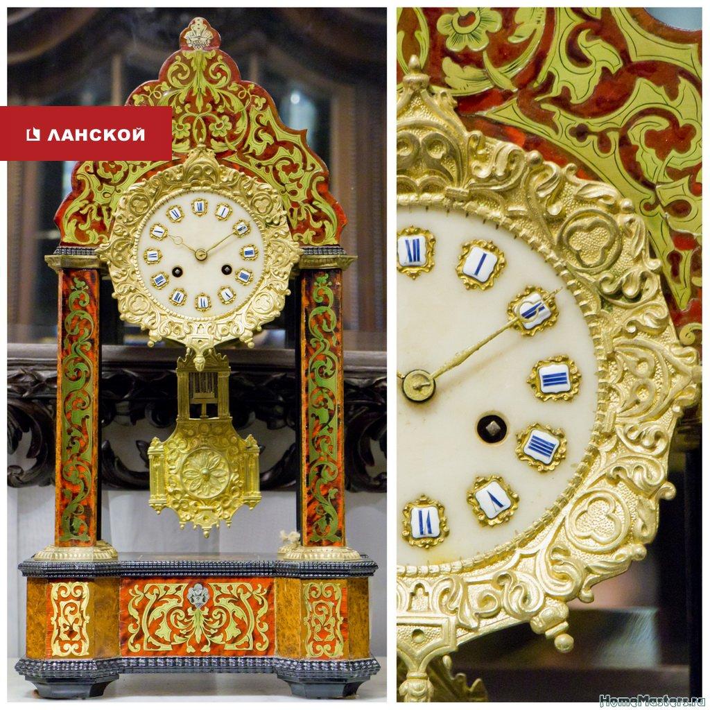 антикварные часы в тк Ланской