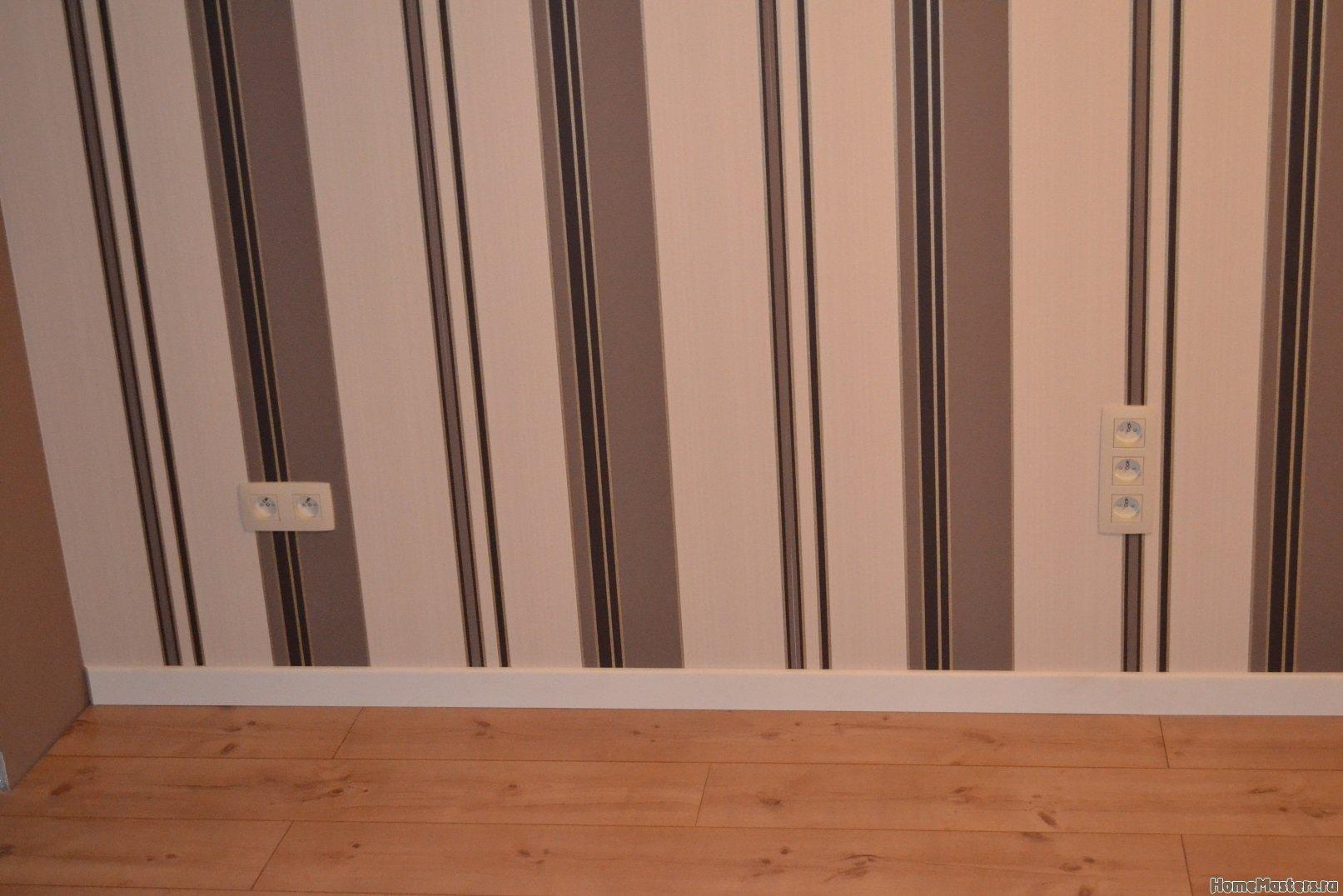 Ремонт спальни  1. Стены, пол, электрика. 054