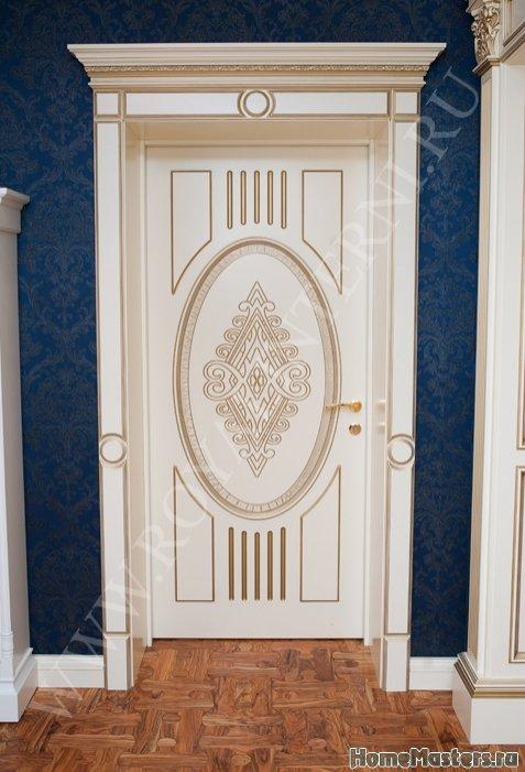 Белая межкомнатная дверь Эльвира от Роял Интерни