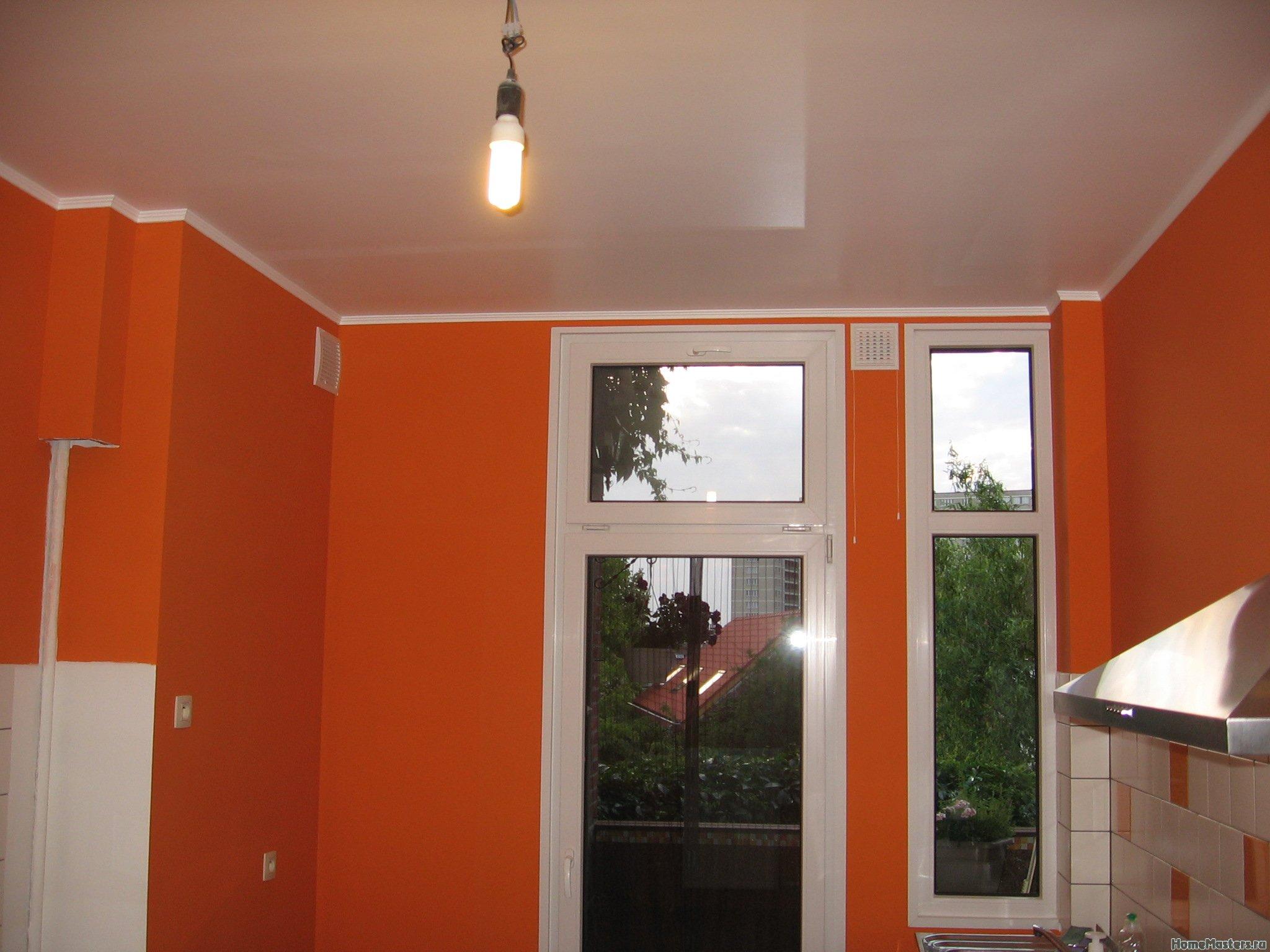 Ремонт на кухне. Стены, пол, электрика.