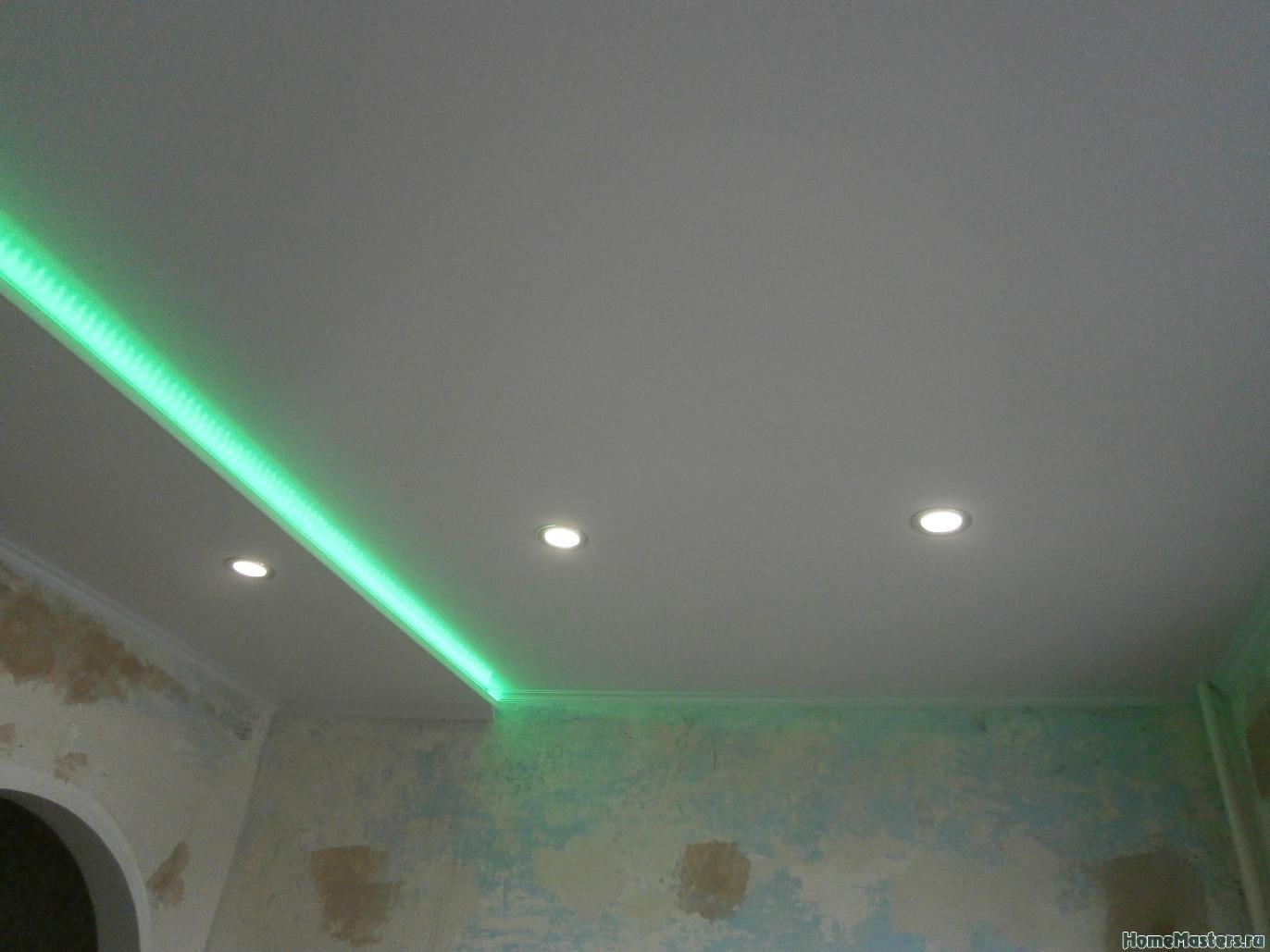 6 Потолок из сэндвич панелей ПВХ ( фото 6 )