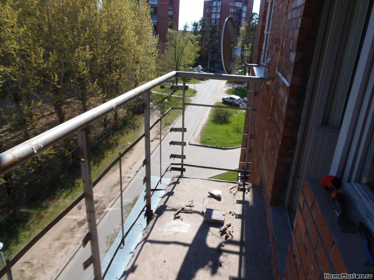 Отделка балкона от СБК-ремонт 6