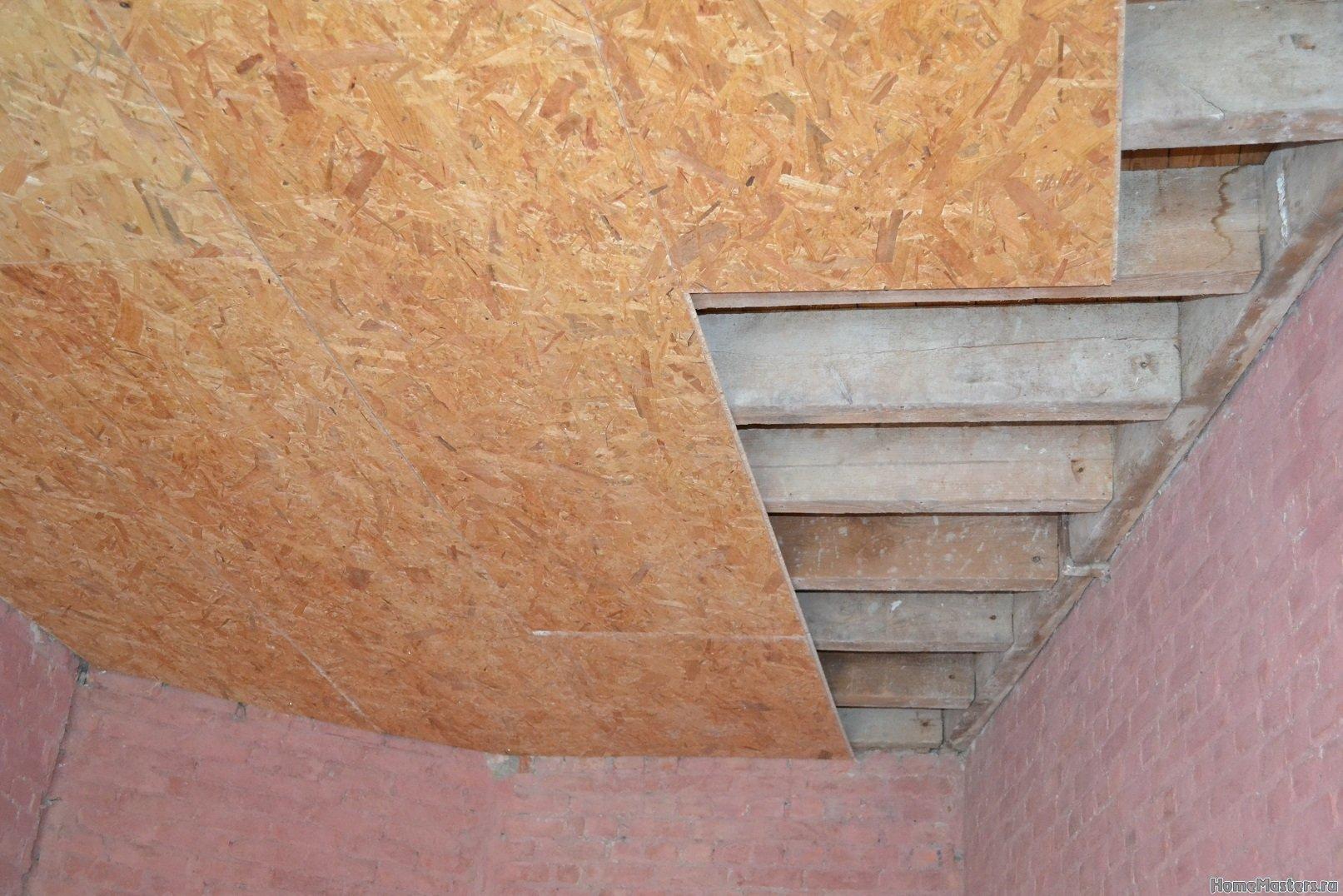 Ремонт в спальне 2. Потолок 009