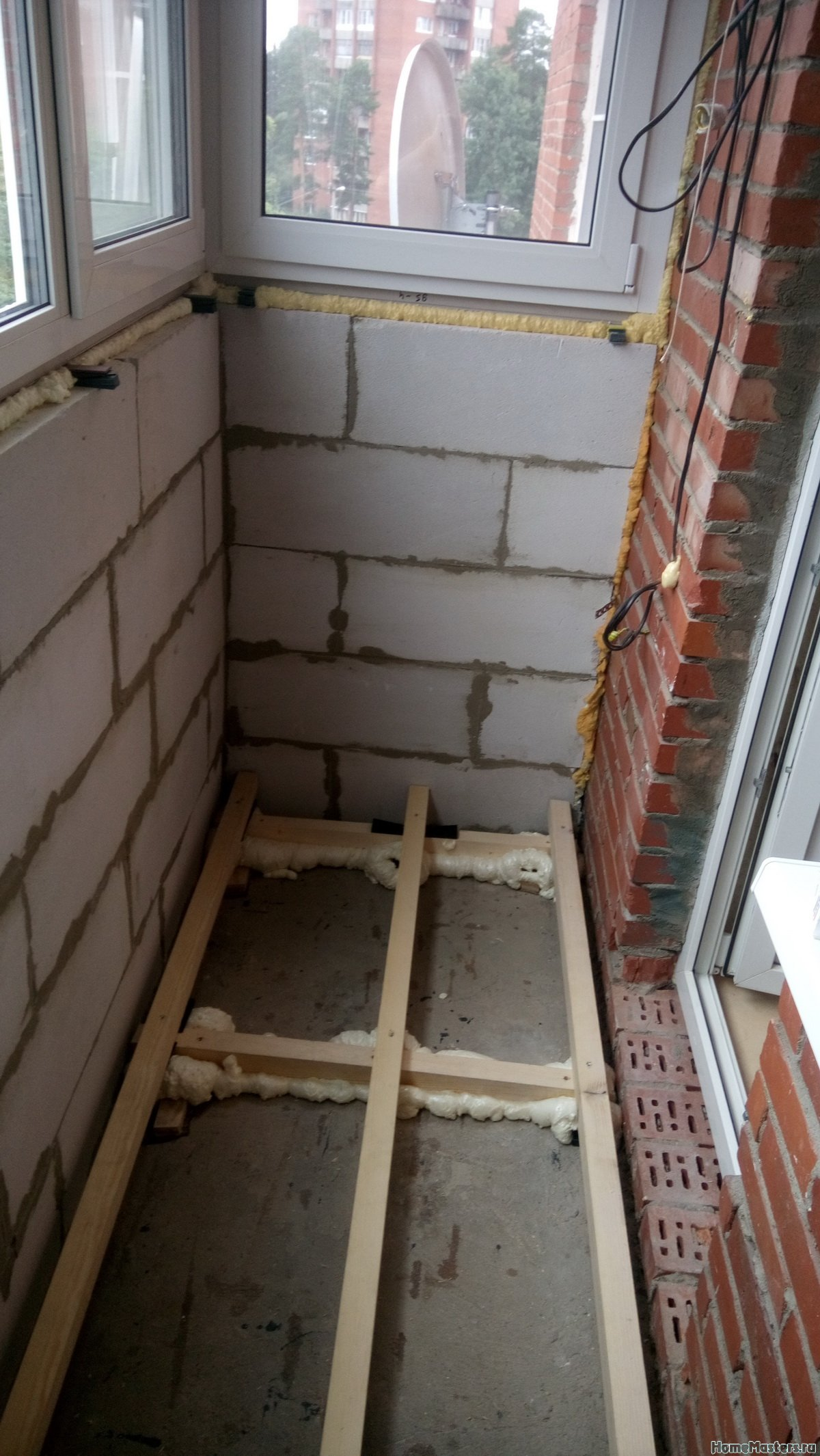 Отделка балкона от СБК-ремонт 19