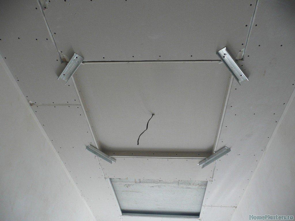 потолок коридор002
