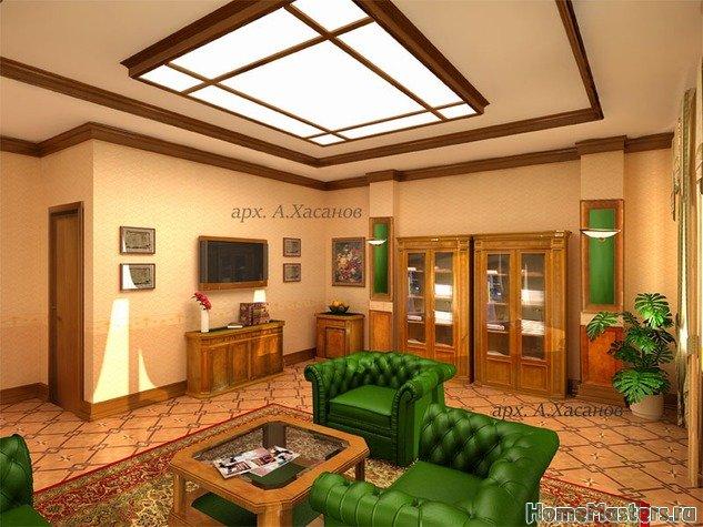 Дизайн интерьера кабинета председателя совета директоров