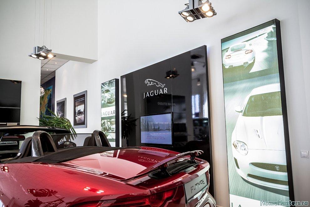 Отелочные работы автомобильный салон премиум класса «Автоград»