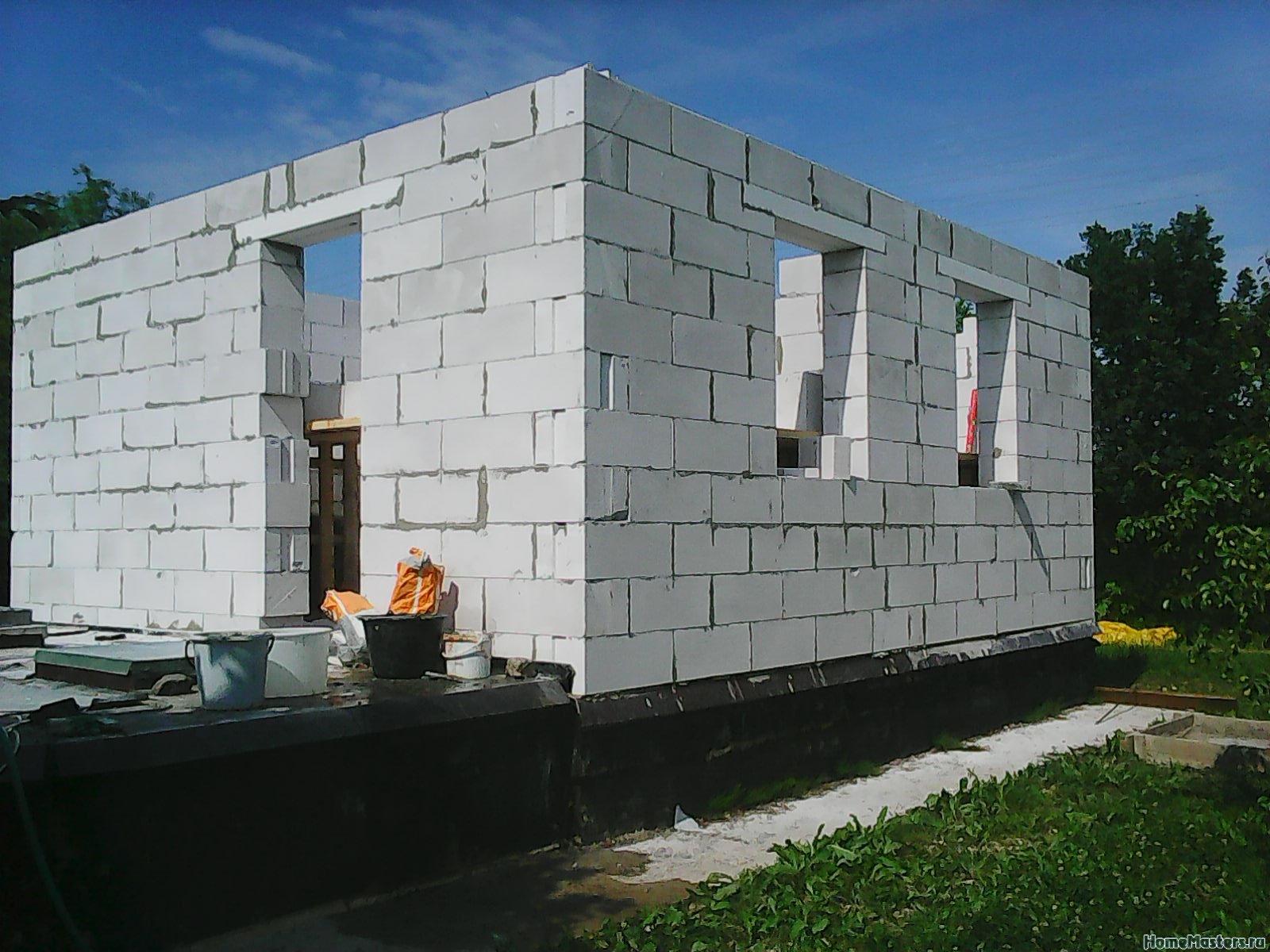 как сделать блоки дома