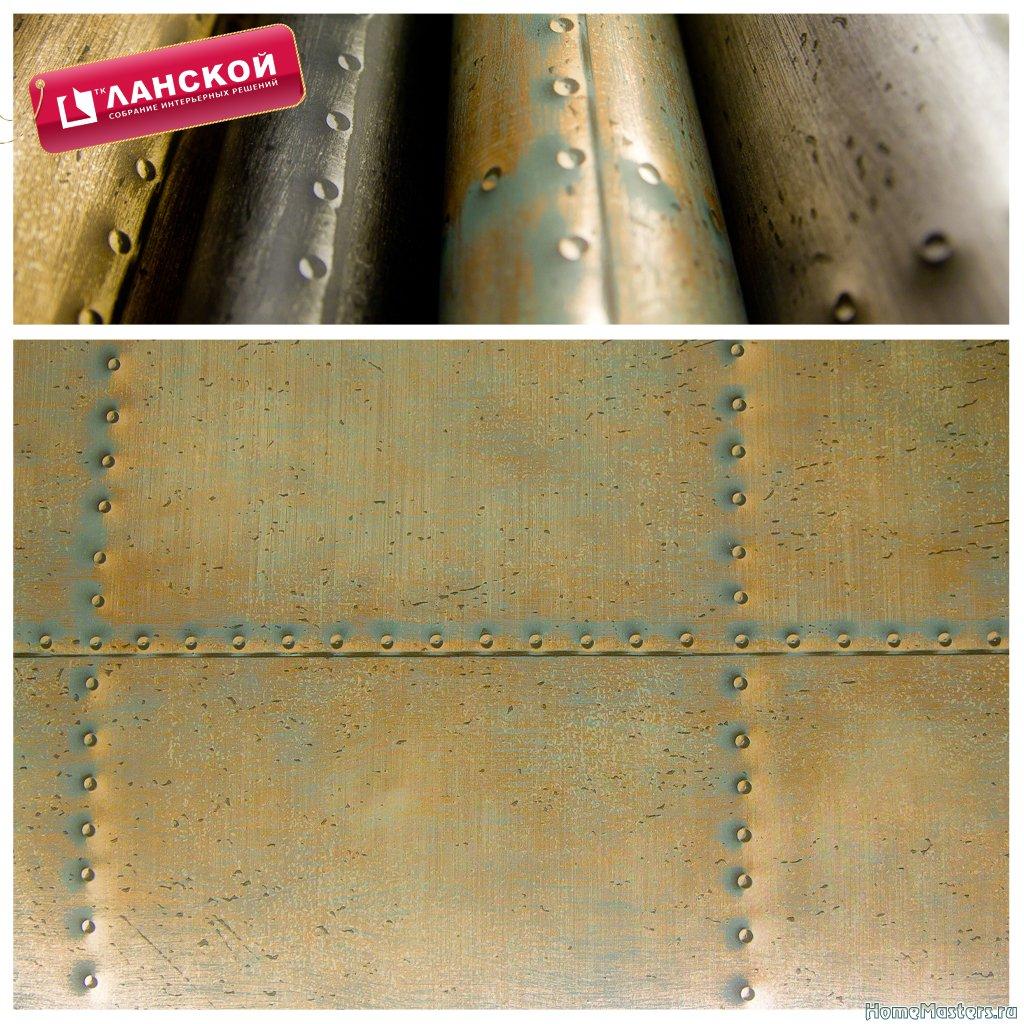 13 Обои Aura, коллекция Reclamed industrial chic wallpapers