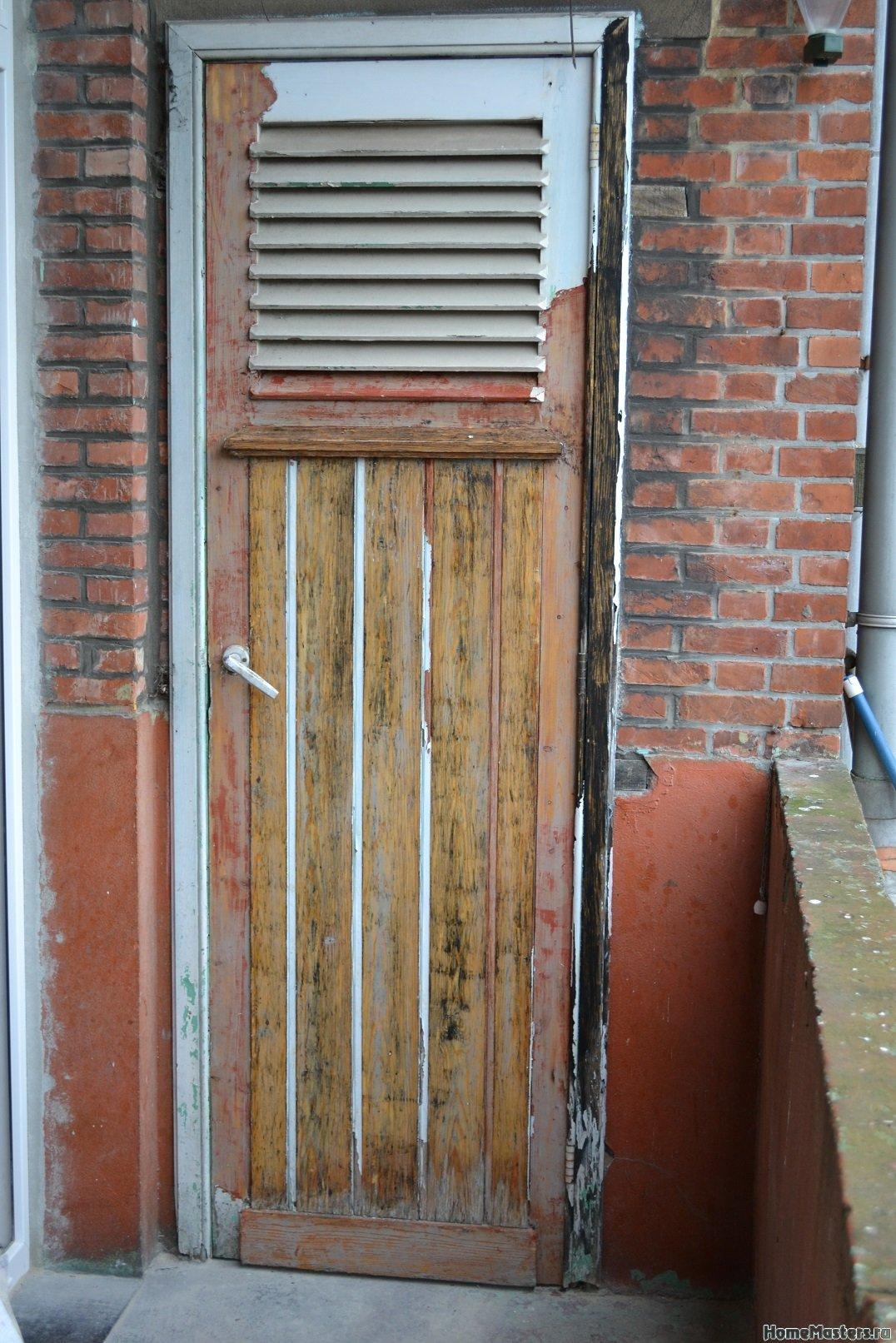 Ремонт балкона. Пол и стены. 041