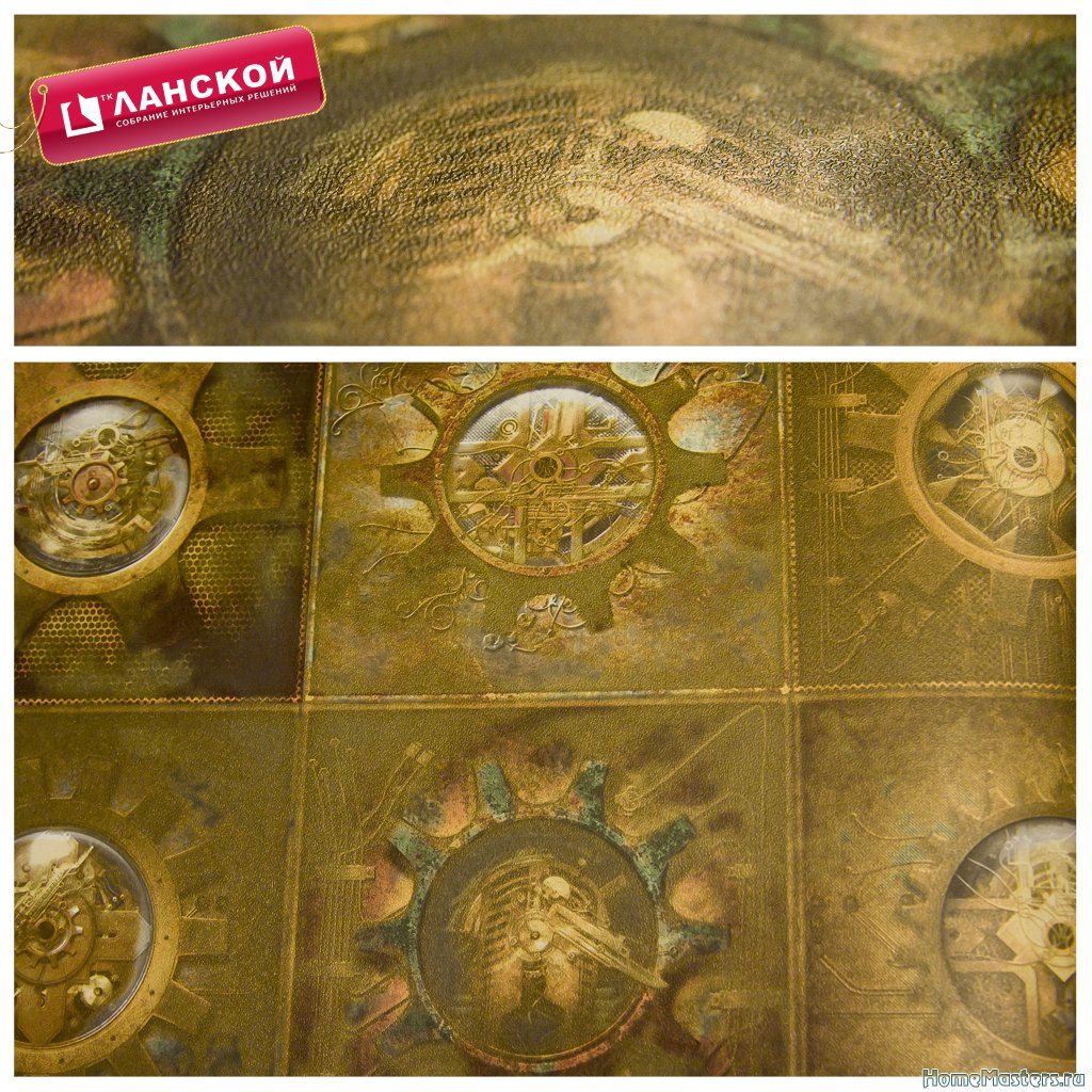 1 Обои Aura, коллекция Reclamed industrial chic wallpapers