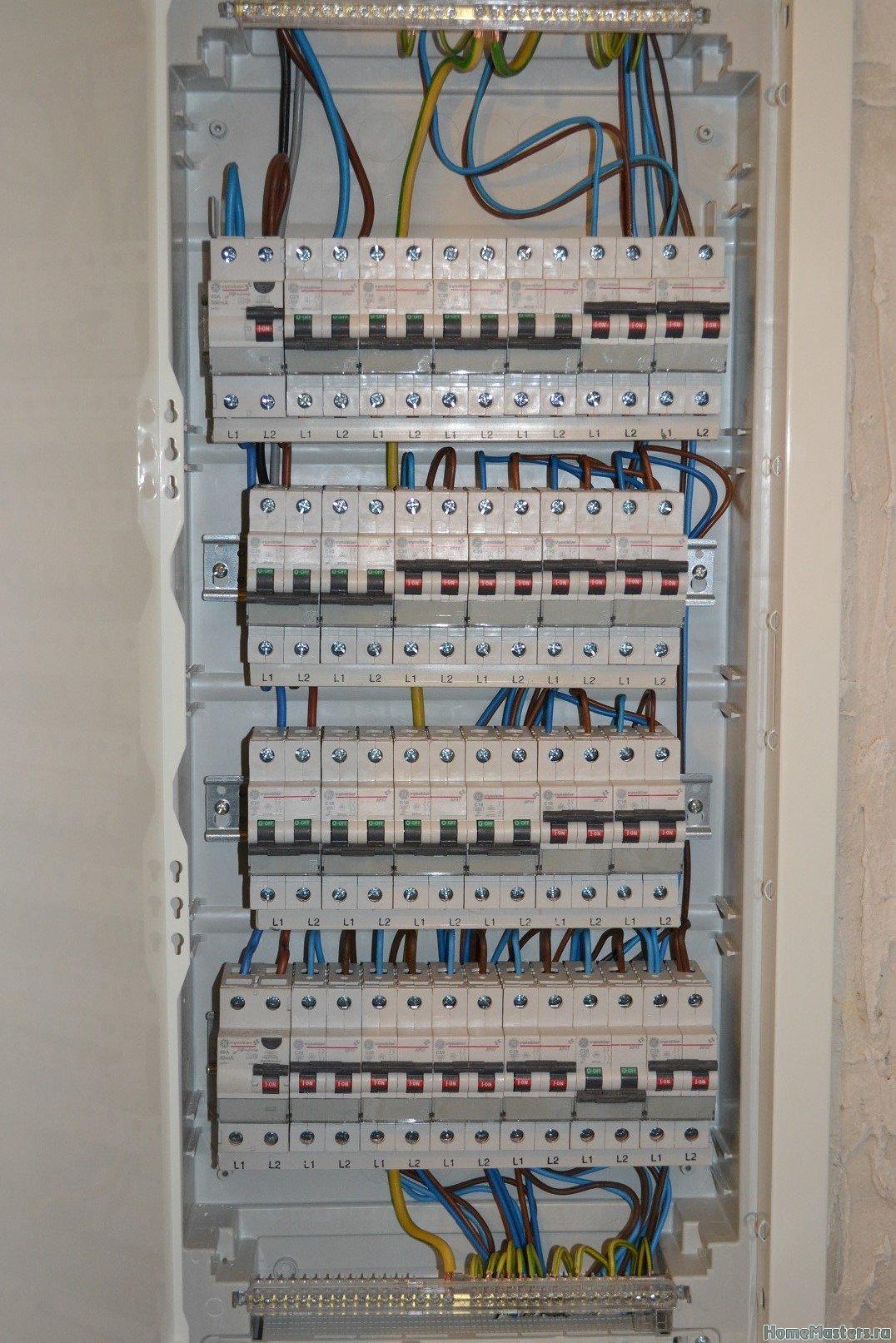 Замена электрощита.