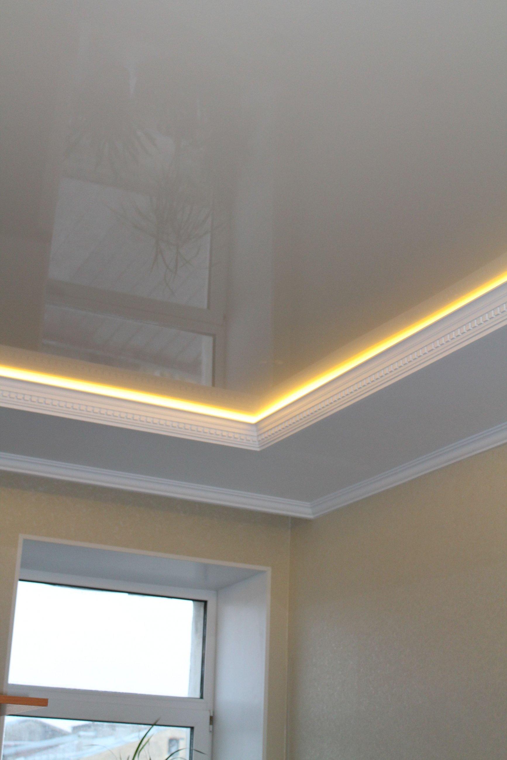 Двух уровневые потолоки